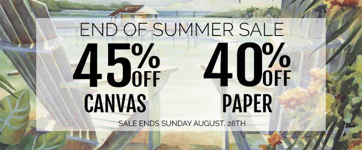 45% Off Canvas