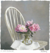 Judy Mandolf - Old Chair With Peonies