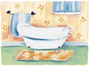 Dona Turner - Tub On Flowered Mat