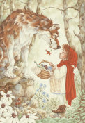 Elizabeth Miles - Little Red Ridinghood Meets The Wolf