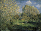 Sisley - The Garden of Hoschede Family, 1881