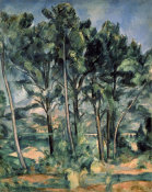 Paul Cezanne - The Aqueduct (Montagne Sainte-Victoire Seen Throug