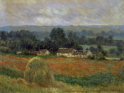 Claude Monet - Haystack at Giverny