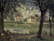 Alfred Sisley - Louveciennes