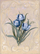 Peggy Abrams - Tulips Azure