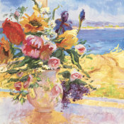 S. Burkett Kaiser - Seaside Blooms I