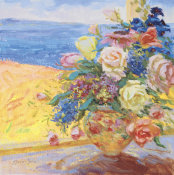 S. Burkett Kaiser - Seaside Blooms II