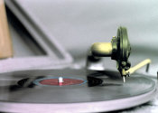 April S. White - Phonograph Closeup