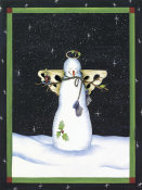 Leslie J. Beck - Praying Snowman