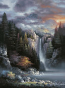 James Lee - Misty Falls