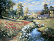 Bernard Willington - An English Cottage Garden