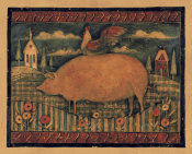 Susan Winget - Farmhouse Pig