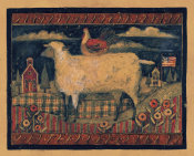 Susan Winget - Farmhouse Sheep