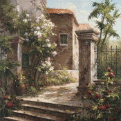 Gabriela - Courtyard With Flowers