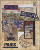 Susan Osborne - Paris Collage