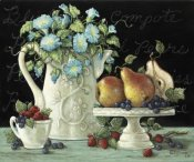 Janet Kruskamp - Morning Glories with Fruit