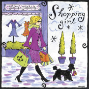 Jennifer Brinley - Shopping Girl