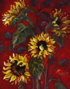 Shari White - Sunflowers I