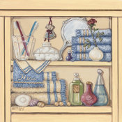 Janet Kruskamp - Her Bathroom Shelf