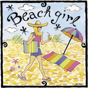 Jennifer Brinley - Beach Girl I
