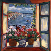 Suzanne Etienne - Overlooking the Bay