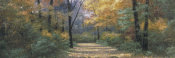 Diane Romanello - Autumn Road Panel
