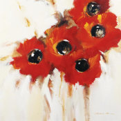 Natasha Barnes - Crimson Poppies I