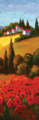 Parrocel - Tuscan Poppies Panel II