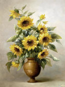 Welby - Sunflowers In Bronze I