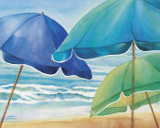 Kathleen Denis - Seaside Umbrellas