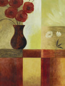 Fernando Leal - Red Flower Window I