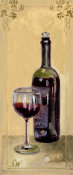 Shari White - Red Wine With Glass