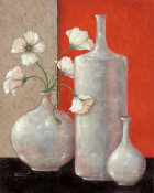 Janet Kruskamp - Silverleaf And Poppies II