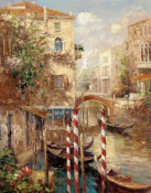 Peter Bell - Venice Canal I