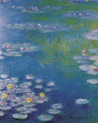 Claude Monet - Waterlilies at Giverny