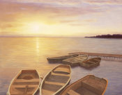 Diane Romanello - Boats At Dock
