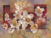 Ruth Baderian - Floral sur la Rouge