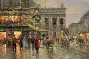 Richards - Vintage Parisian Street Scene