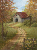 Lene Alston Casey - Roadside Barn