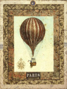 Miles Graff - Vintage Hot Air Balloon I