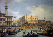 Canaletto - The Betrothal of the Venetian Doge to the Adriatic