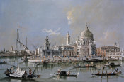 Guardi - Dogana of Venice