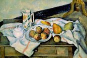 Paul Cezanne - Still Life of Peaches and Pears
