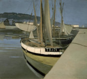 Felix Vallotton - Sailboats in the Bay of Tregastel