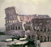 Vasilii Surikov - The Roman Colosseum