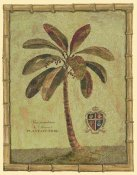 Betty Whiteaker - Caribbean Palm IV With Bamboo Border