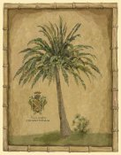 Betty Whiteaker - Caribbean Palm III With Bamboo Border
