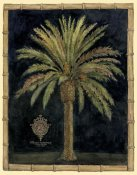 Betty Whiteaker - Caribbean Palm I With Bamboo Border