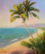 Dupre - Palms On The Beach I