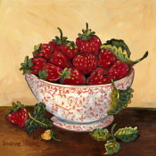 Suzanne Etienne - Bowl of Strawberries